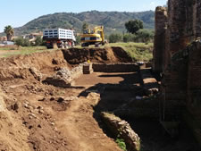 TERME ROMANE DI CURINGA: Lo scavo archeologico continua.