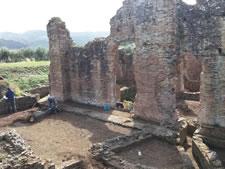 TERME ROMANE DI CURINGA: E' iniziato lo scavo archeologico